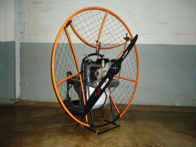 Paramotor  Black Orange  top80