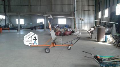 Girocóptero Autogiro Bensem B8 Original RARIDADE!