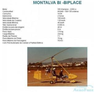 GIROCÓPTERO - Montalva Bi -Biplace.