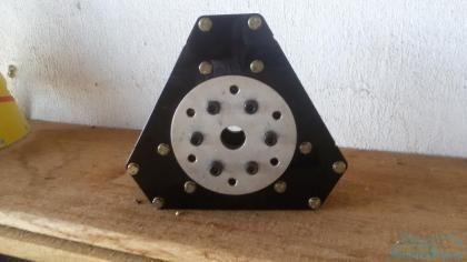 Cubo de hélice warp drive  tripá para rotax