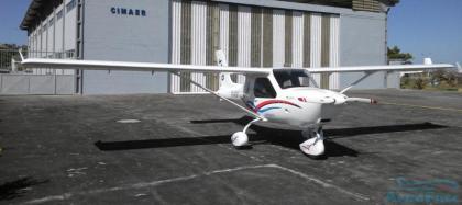 Ultraleve Jabiru J-170 - estado de novo.