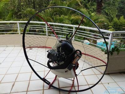 Paramotor Parajet Zenith Motor Vittorazi+capacete+rádio Novo