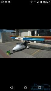 motoplanador ultraleve.