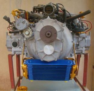 Motor Subaro 2.2 com redução por engrenagem