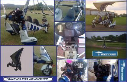 Trike icaros/ Asa AirBorne