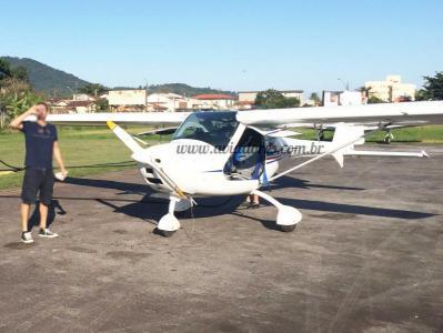 Avião Experimental Remos G3 600 – Ano 2008 – 550 H.T.