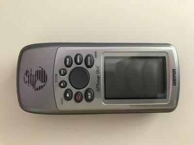 GPS Garmin GPSMAP 96c Aeronáutico e Suporte para Manche