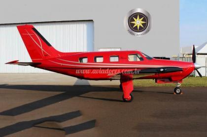 Avião Piper PA-46R-350T Matrix – Ano 2008 – 2300 H.T.
