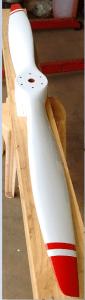 Vendo helice bipà de madeira 68x54
