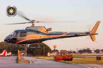 Helicoptero Turbina Helibras AS350B3 – Ano 2005 – 2600 H.T. - AV5255